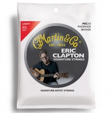 Martin MEC12 Clapton's Choice Σετ Ακουστικής (12-54)