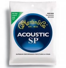 Martin MSP4000 Phosphor Bronze Σετ Ακουστικής (10-47)