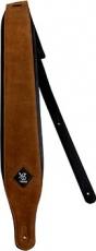 Δερμάτινη ζώνη κιθάρας Minotaur καφέ camel padded